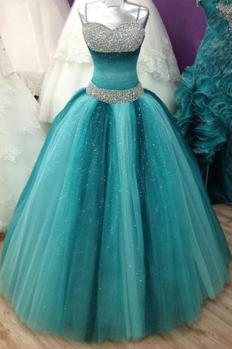 New Style Quinceanera Dresses Ball Gown,Long Prom Dresses,Multi-colors Sweetheart,Beading Quinceanera Dresses UK4756