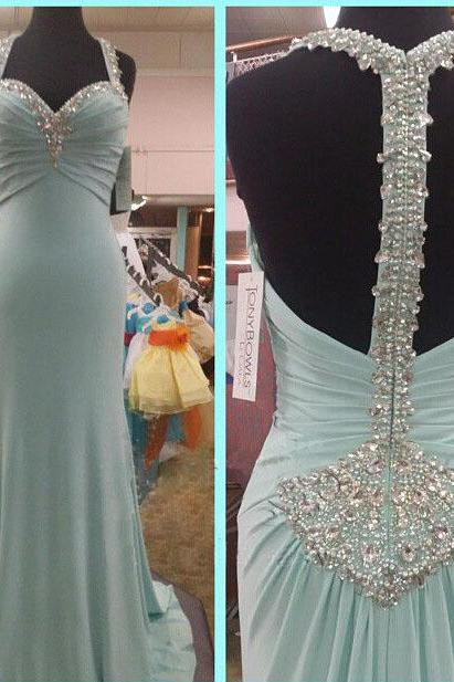 long prom dress, blue prom dress, unique prom dress, formal prom dress, inexpensive prom dress, popular prom dress, BD56 UK6063