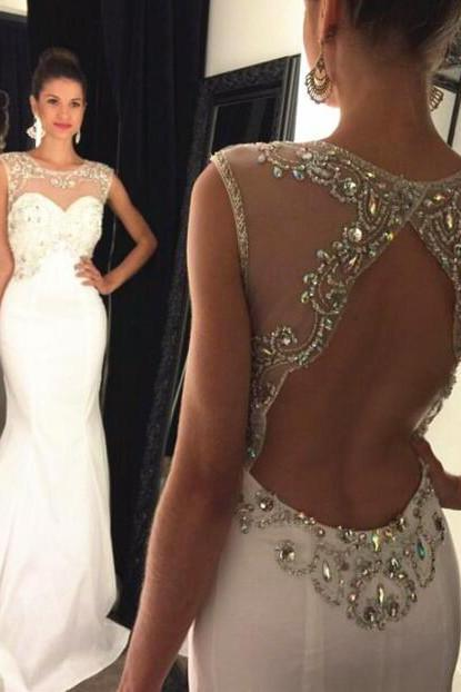 Backless Prom Dress Mermaid Style DW00664 UK12079